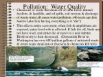 pollution water quality
