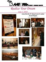 realize your dream june 3 2010