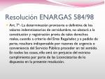 resoluci n enargas 584 984
