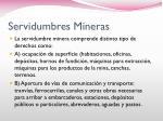 servidumbres mineras1