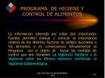 programa de higiene y control de alimentos19