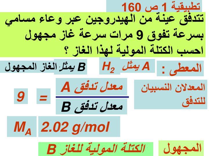 تطبيقية 1 ص 160