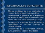 informacion suficiente1