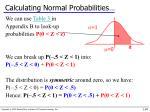 calculating normal probabilities3