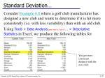 standard deviation1