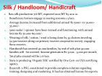 silk handloom handicraft