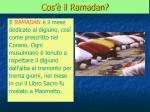 cos il ramadan