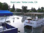 east lake yorba linda ca