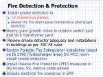 fire detection protection