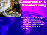 construction manufacturing