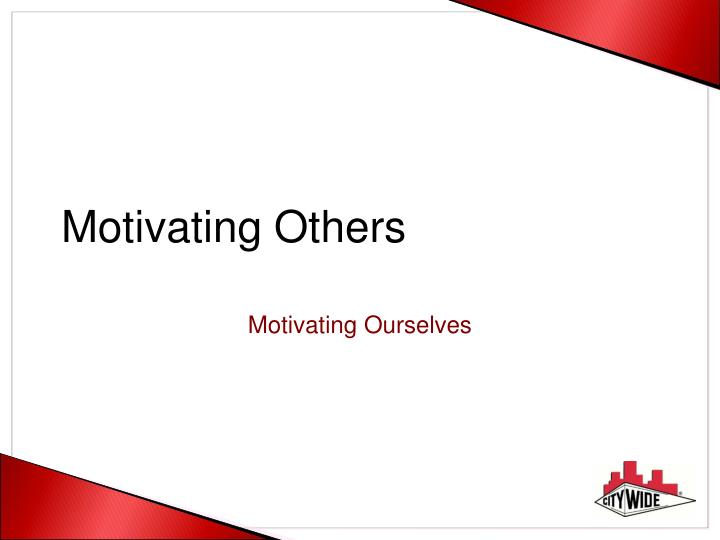 motivating others n.