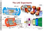 the lhc experiments