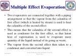 multiple effect evaporation1