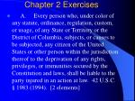 chapter 2 exercises