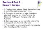section 4 part a eastern europe