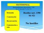 hostiles art 1390 bis 42