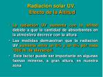 radiaci n solar uv efecto de la altitud