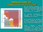 radiaci n solar uv radiaci n uv en una ciudad