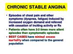 chronic stable angina