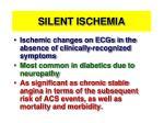 silent ischemia