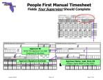people first manual timesheet fields your supervisor should complete