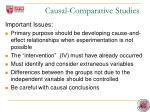 causal comparative studies1
