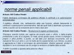 norme penali applicabili1