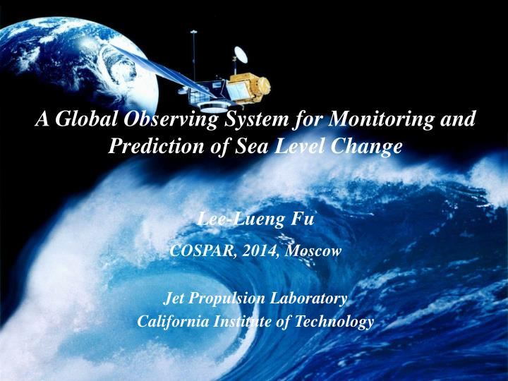 A Global Observing System for Monitoring and Prediction of Sea