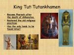 king tut tutankhamen