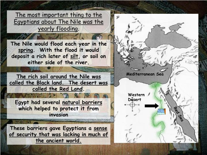 geography of ancient egyptian Herodotus on the geography of egypt the ancient egyptians regulated their lives according to flooding cycles of the nile they relied on the flooding to fertilize their farms but also suffered when high water carried away their homes and property.