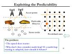 exploiting the predictability