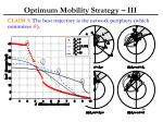 optimum mobility strategy iii