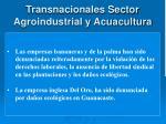 transnacionales sector agroindustrial y acuacultura1