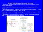 estudio energ tico del generador elemental