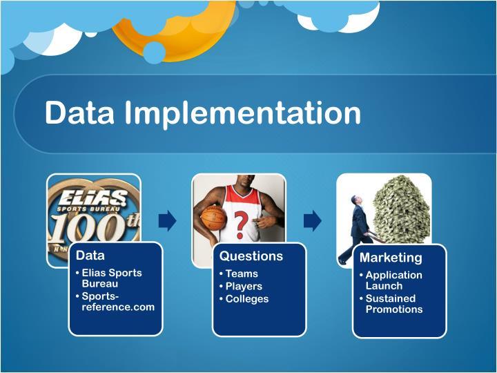 Data Implementation