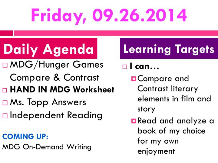Friday, 09.26.2014