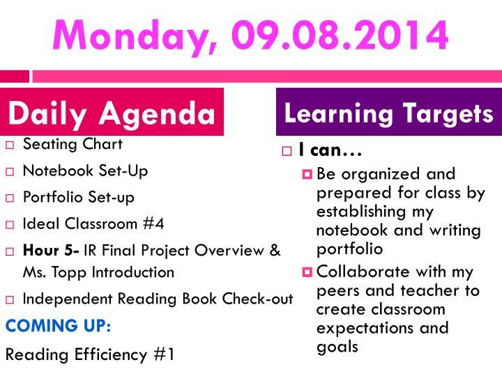 Monday, 09.08.2014