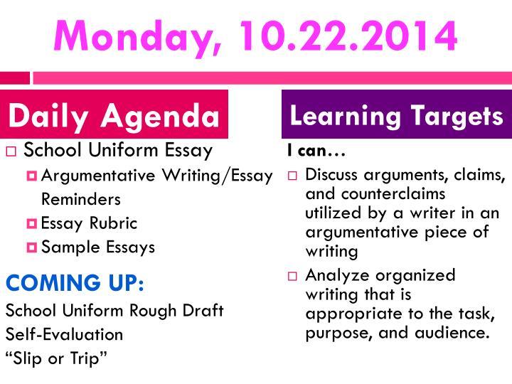 Monday, 10.22.2014