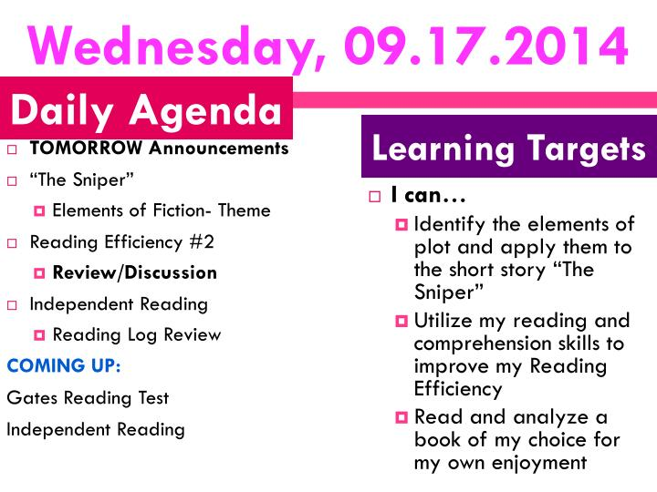 Wednesday, 09.17.2014
