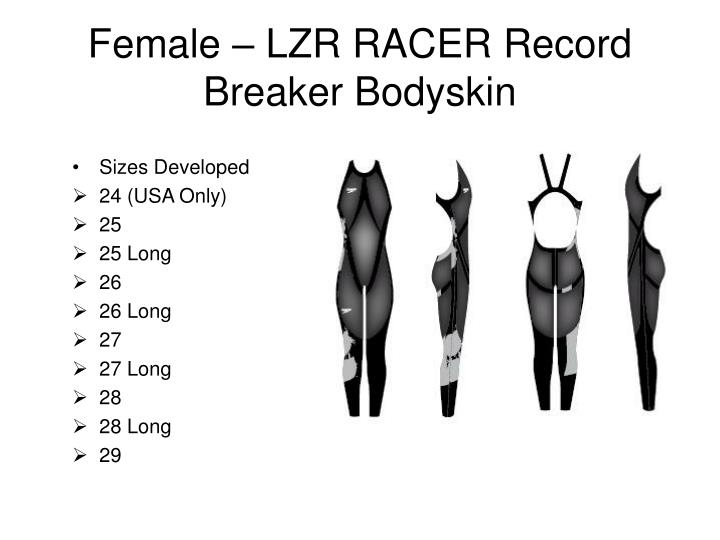 Female – LZR RACER Record Breaker Bodyskin