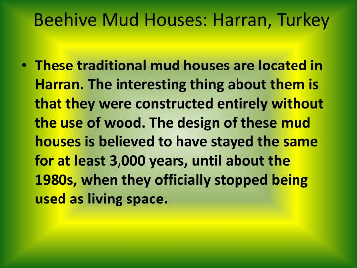 Beehive Mud Houses: Harran, Turkey