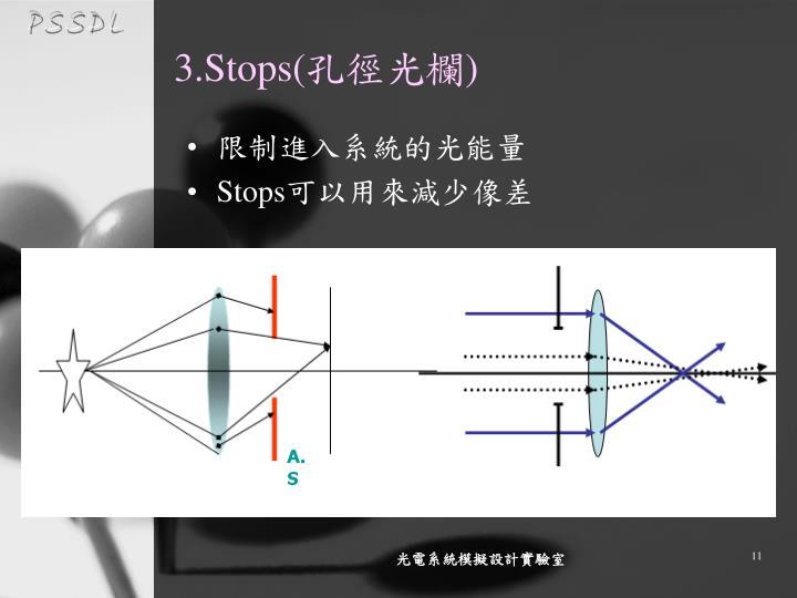 3.Stops(
