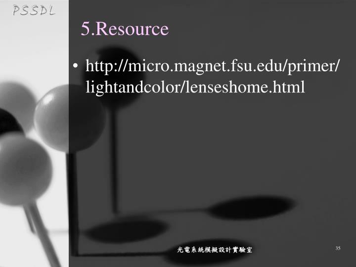 5.Resource