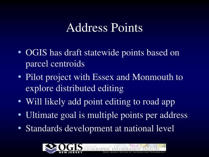 Address Points