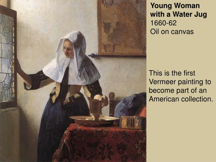 Young Woman with a Water Jug