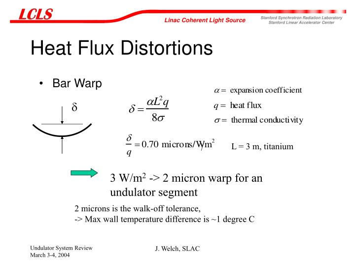Heat Flux Distortions
