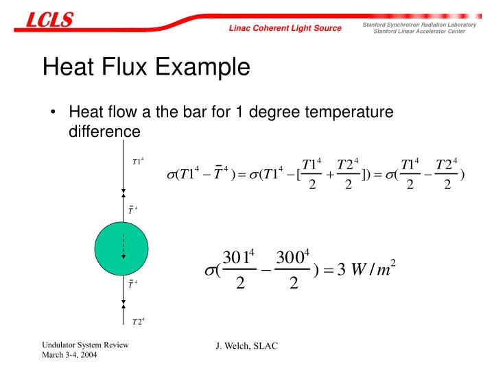 Heat Flux Example