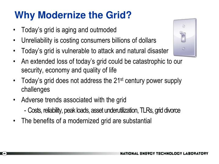 Why Modernize the Grid?