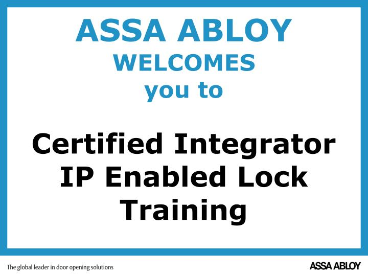 PPT - ASSA ABLOY PowerPoint Presentation - ID:6871713