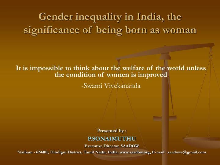 the effects of colonialism on gender inequality politics essay Gender inequality essaysgender inequality is amongst us all in any given society although gender is not as simple as may seem gender comes into play along with a number of different aspects such as sex, gender and gender roles.
